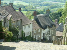 Shaftesbury, Gold Hill, Neil Kennedy, Dorset © CC